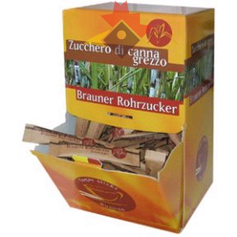Brieflzucker Rohrzucker braun 200 Sticks (3,4gr) 800gr ...